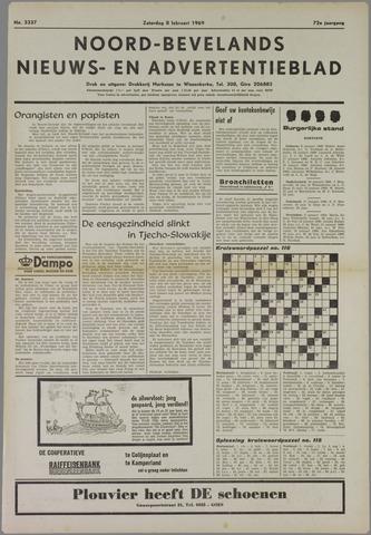 Noord-Bevelands Nieuws- en advertentieblad 1969-02-08
