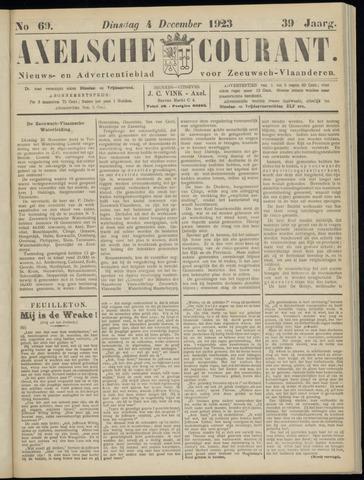 Axelsche Courant 1923-12-04