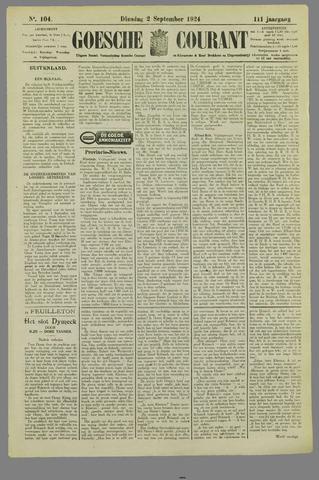 Goessche Courant 1924-09-02