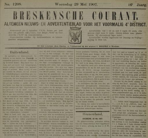 Breskensche Courant 1907-05-29