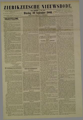 Zierikzeesche Nieuwsbode 1889-09-10
