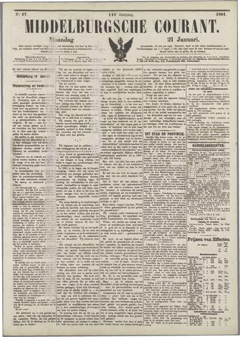 Middelburgsche Courant 1901-01-21
