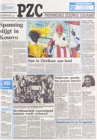 Provinciale Zeeuwse Courant 1988-11-21