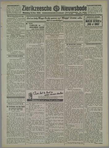Zierikzeesche Nieuwsbode 1934-11-12