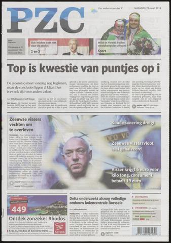 Provinciale Zeeuwse Courant 2014-03-24