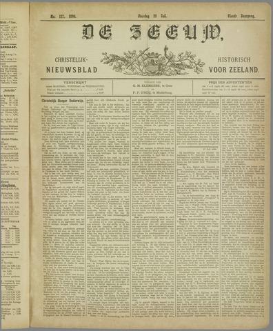 De Zeeuw. Christelijk-historisch nieuwsblad voor Zeeland 1896-07-28