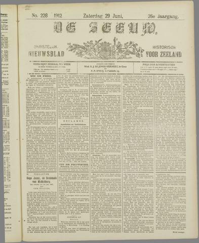 De Zeeuw. Christelijk-historisch nieuwsblad voor Zeeland 1912-06-29