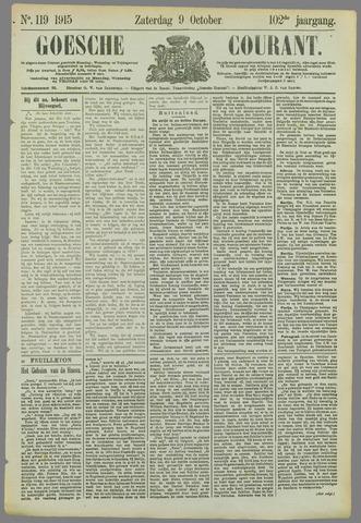 Goessche Courant 1915-10-09