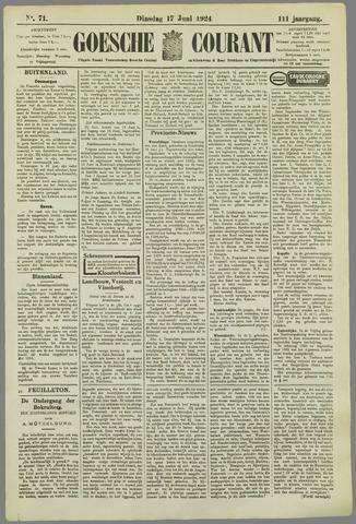 Goessche Courant 1924-06-17