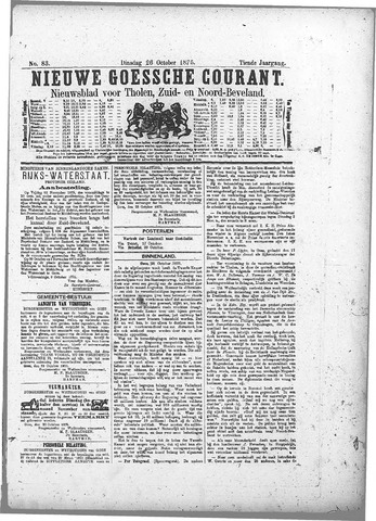 Nieuwe Goessche Courant 1875-10-26
