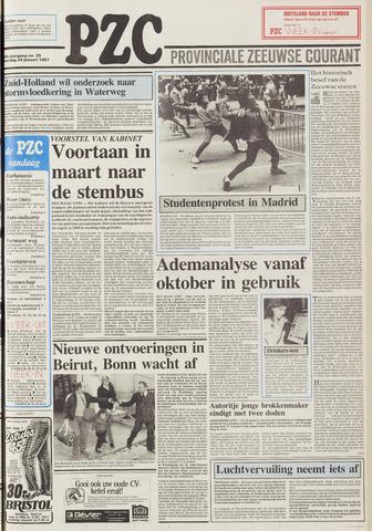 Provinciale Zeeuwse Courant 1987-01-24