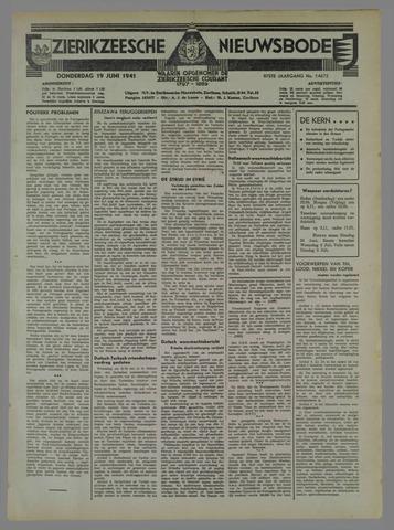 Zierikzeesche Nieuwsbode 1941-06-25