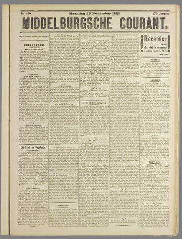 Middelburgsche Courant 1927-11-28