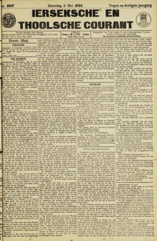 Ierseksche en Thoolsche Courant 1923-05-05