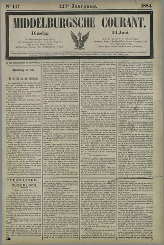 Middelburgsche Courant 1884-06-24