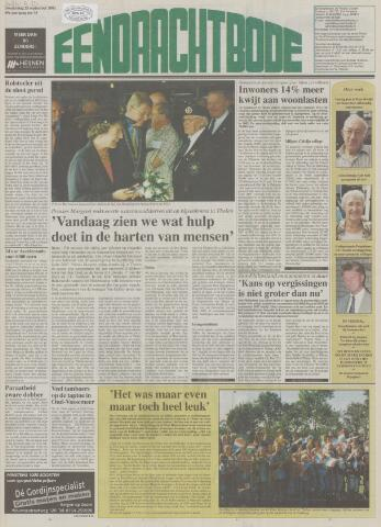 Eendrachtbode (1945-heden)/Mededeelingenblad voor het eiland Tholen (1944/45) 2003-09-25