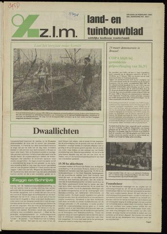 Zeeuwsch landbouwblad ... ZLM land- en tuinbouwblad 1982-02-26