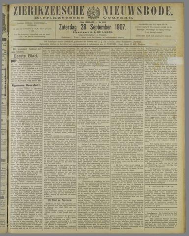 Zierikzeesche Nieuwsbode 1907-09-28