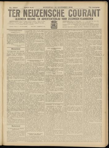 Ter Neuzensche Courant. Algemeen Nieuws- en Advertentieblad voor Zeeuwsch-Vlaanderen / Neuzensche Courant ... (idem) / (Algemeen) nieuws en advertentieblad voor Zeeuwsch-Vlaanderen 1938-11-30