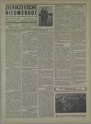 Zierikzeesche Nieuwsbode 1942-12-04