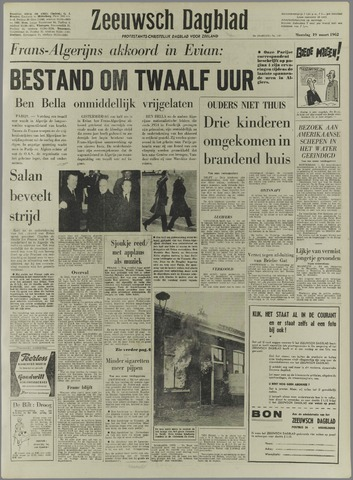Zeeuwsch Dagblad 1962-03-19