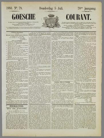Goessche Courant 1883-07-05