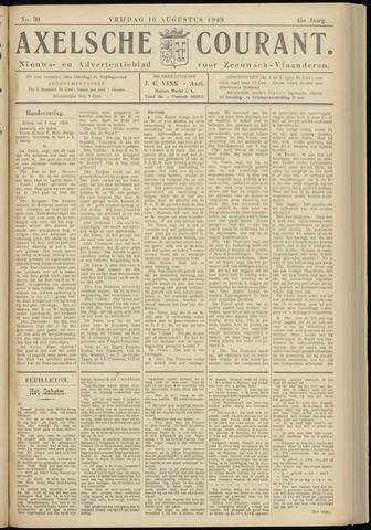 Axelsche Courant 1929-08-16
