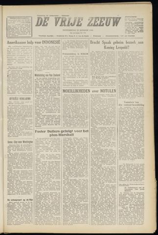 de Vrije Zeeuw 1948-01-22