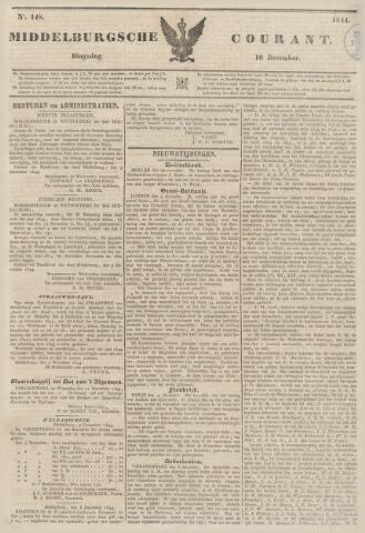 Middelburgsche Courant 1844-12-10