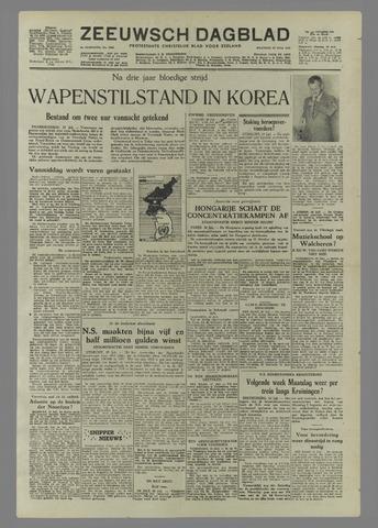 Zeeuwsch Dagblad 1953-07-27