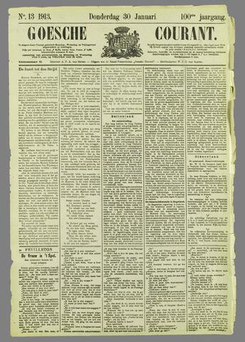 Goessche Courant 1913-01-30