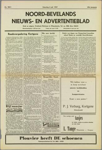 Noord-Bevelands Nieuws- en advertentieblad 1957-07-06