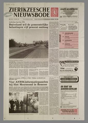 Zierikzeesche Nieuwsbode 1993-10-01