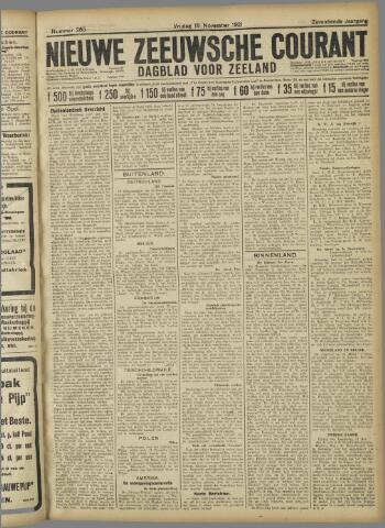 Nieuwe Zeeuwsche Courant 1921-11-18