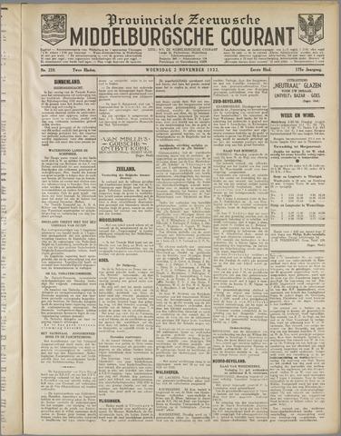 Middelburgsche Courant 1932-11-02