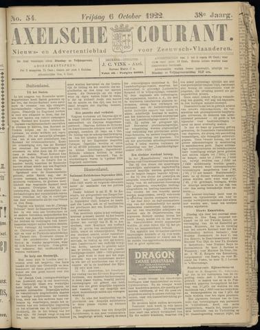 Axelsche Courant 1922-10-06