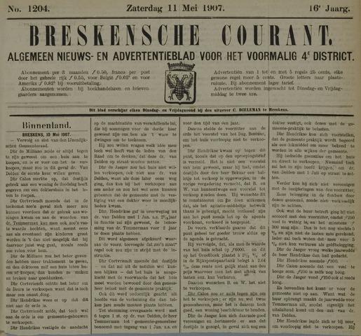 Breskensche Courant 1907-05-11