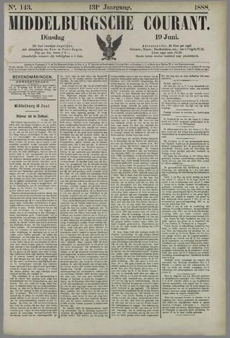 Middelburgsche Courant 1888-06-19