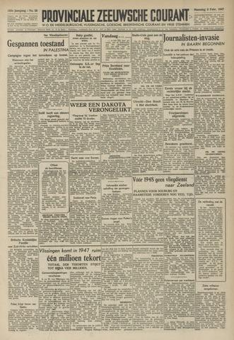 Provinciale Zeeuwse Courant 1947-02-03
