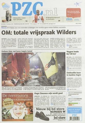 Provinciale Zeeuwse Courant 2010-10-16