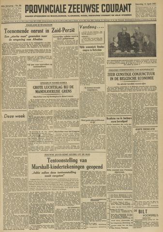 Provinciale Zeeuwse Courant 1951-04-14