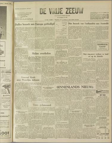 de Vrije Zeeuw 1959-02-09