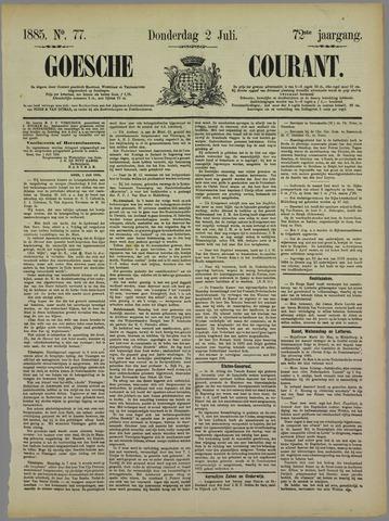 Goessche Courant 1885-07-02