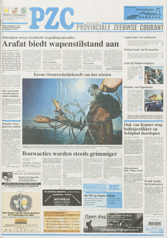 Provinciale Zeeuwse Courant 2002-03-29