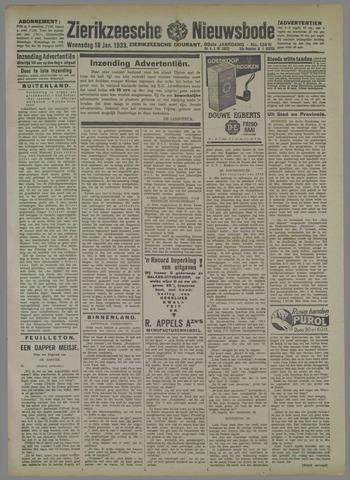 Zierikzeesche Nieuwsbode 1933-01-18