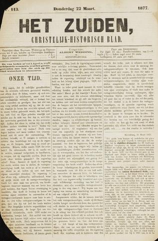 Het Zuiden, Christelijk-historisch blad 1877-03-22