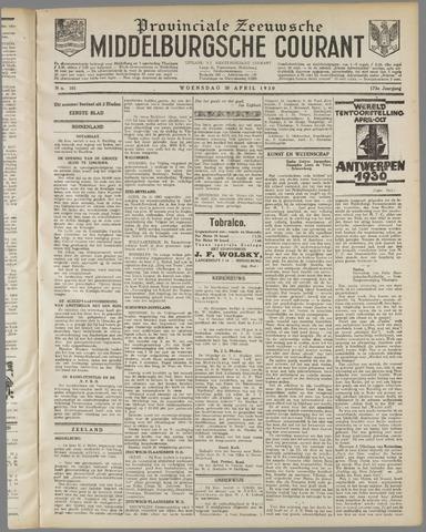 Middelburgsche Courant 1930-04-30
