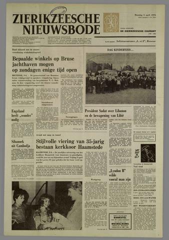 Zierikzeesche Nieuwsbode 1976-04-05