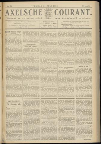 Axelsche Courant 1930-07-11