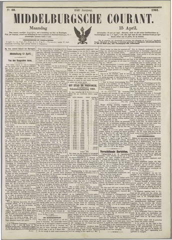 Middelburgsche Courant 1901-04-15